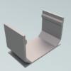 Legomont Alu Slot Drain aluminijski kanali s rasporom i revizijskim poklopcem za odvodnju terasa- dostupno ODMAH - al-spojnica-za-dva-kanala