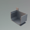 Legomont Alu Slot Drain aluminijski kanali s rasporom i revizijskim poklopcem za odvodnju terasa- dostupno ODMAH - al-cep-kanala-desni