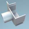 Legomont Alu Slot Drain aluminijski kanali s rasporom i revizijskim poklopcem za odvodnju terasa- dostupno ODMAH - al-cep-kanala-lijevi-dn-50